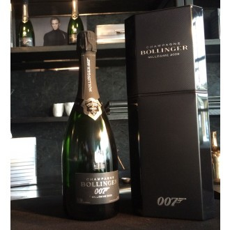 Champagne Bollinger Spectre 007 Limited Edition vintage 2009
