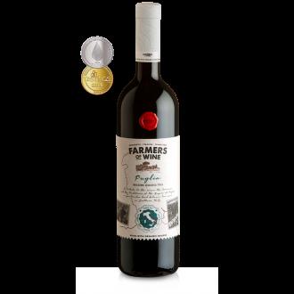 FARMERS of WINE Rosso Puglia Italia 2018 (WHITE LABEL)