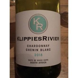 De Wet Cellar Klippiesrivier Chardonnay - Chenin Blanc Breedekloof Zuid Afrika 2019