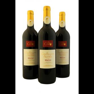 Guillaume Aurele Merlot Vin de Pays d'Oc Languedoc France 2015