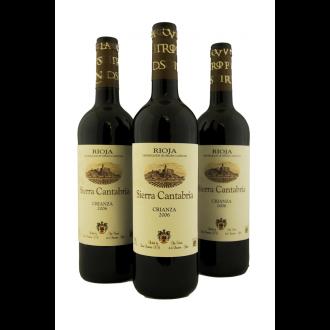 Sierra Cantabria Rioja crianza España 2015