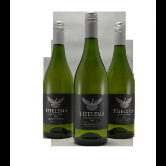 Doos (6 flessen) Thelema Mountain White Stellenbosch Zuid Afrika 2018