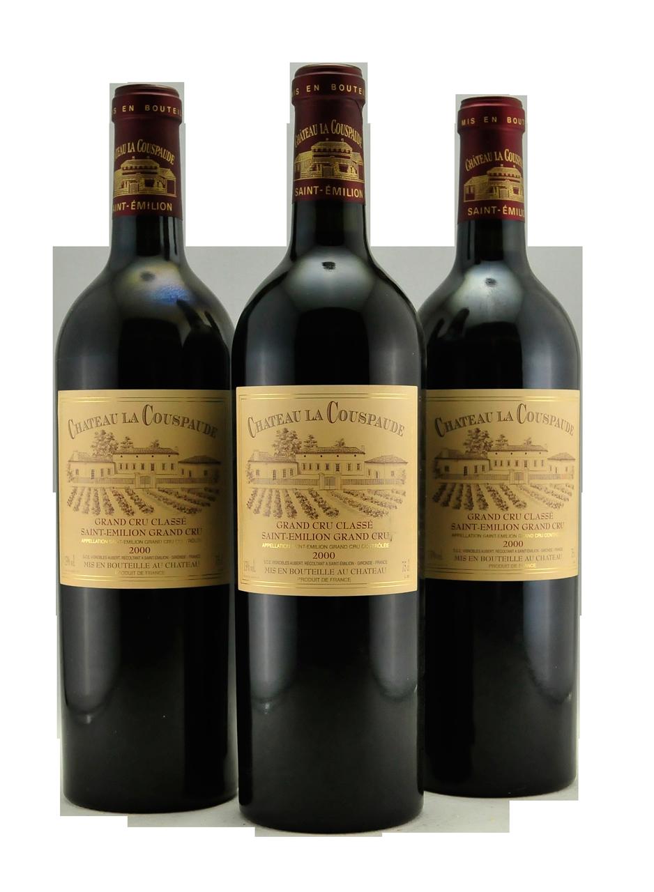 La Couspaude Saint-Emilion Grand Cru Classé Bordeaux France 2000